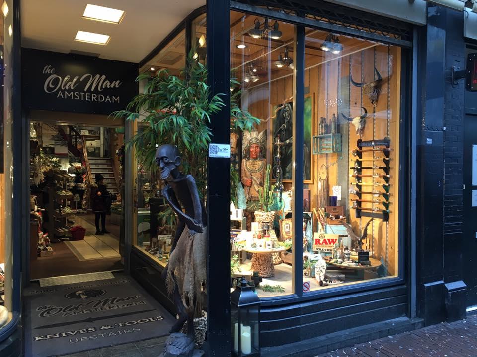 The Old Man Smoke store Amsterdam