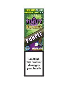 Juicy Jay's Hempwraps Purple (Grapes Gone Wild) 1 pack 2L