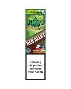 Juicy Jay's Hempwraps Red Alert (Strawberry Fields)1 pack 2L