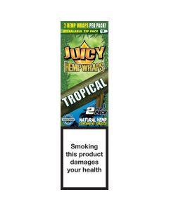 Juicy Jay's Hempwraps Tropical (Tropical Passion) 1 pack 2L