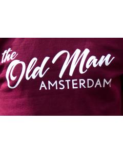 OLD MAN T-SHIRT MAROON L