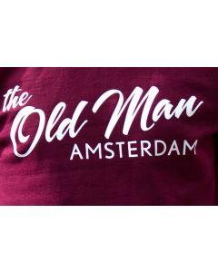 OLD MAN T-SHIRT MAROON M