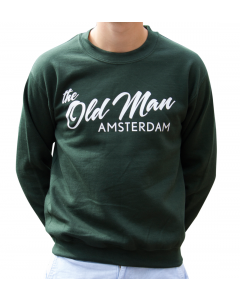 OLD MAN CREW SWEATER FOREST M